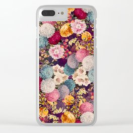 EXOTIC GARDEN X Clear iPhone Case