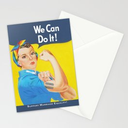 We Can Do It! - Support Marriage Equality Stationery Cards