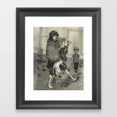The Piper Colors Framed Art Print