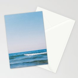 Precioso mar enfrente Stationery Cards