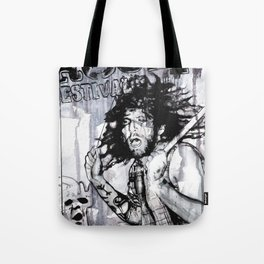 Johnny - the drummer Tote Bag