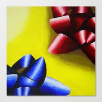 bows Canvas Prints featuring Bows by ☼LinziexDiane