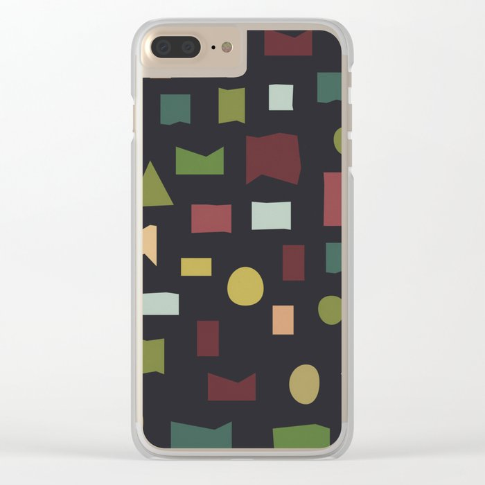 The Pattern Gets Worse II Clear iPhone Case