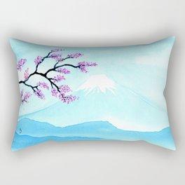 A Single Branch Rectangular Pillow