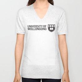 uow Unisex V-Neck