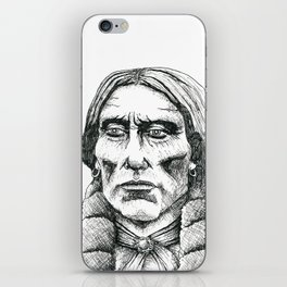 Quanah Parker, Last Chief of the Comanches iPhone Skin
