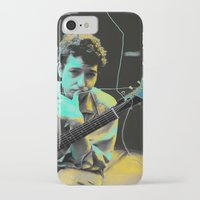 bob dylan iPhone & iPod Cases featuring Bob Dylan by Zmudart