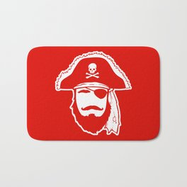 Who wants to be a Pirate?!? Bath Mat