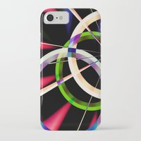 circles iPhone & iPod Cases featuring circles by haroulita