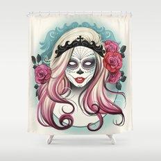 ¡Dia de los Muertos! Shower Curtain
