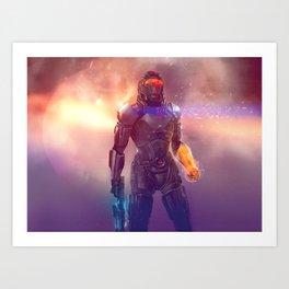 Shepard's Last Stand Art Print