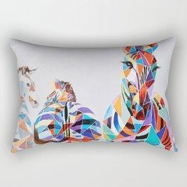 ZEBRA COLOR Rectangular Pillow