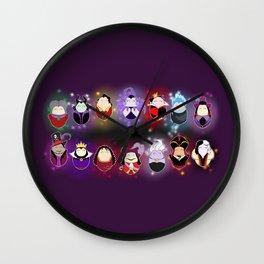 The Villains Wall Clock