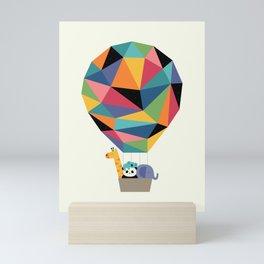 Fly High Together Mini Art Print