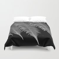 fern Duvet Covers featuring Fern by Penelope Clute