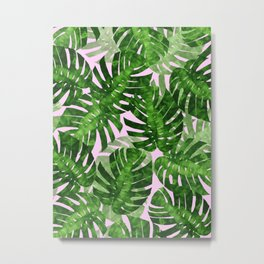 Tropical leaf VI Metal Print