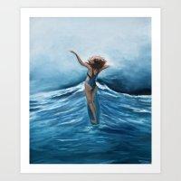 Marina Art Print