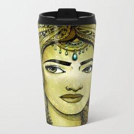 Golden Girl Metal Travel Mug