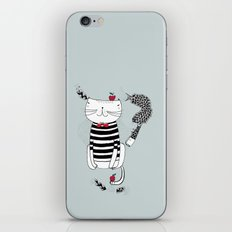 Happy in my harbour iPhone & iPod Skin