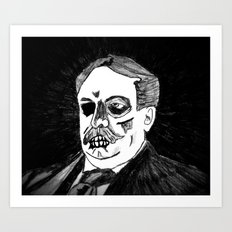27. Zombie William Howard Taft  Art Print