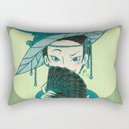 Cards Witch Rectangular Pillow