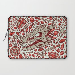 Hoard of the Gem Dragon | Ruby Laptop Sleeve