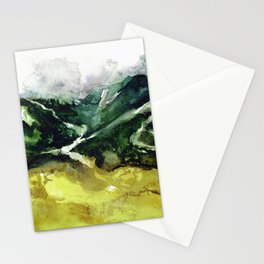 The flow of nature Stationery Cards