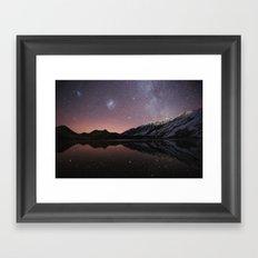 Moke Lake Framed Art Print