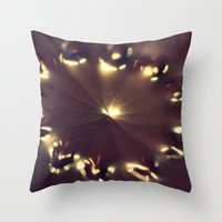 chocolate Throw Pillows featuring Chocolate by Irène Sneddon
