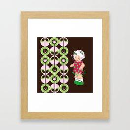 little miss coco Framed Art Print
