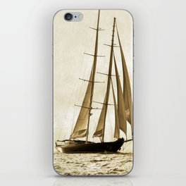 beauty is sailing iPhone Skin