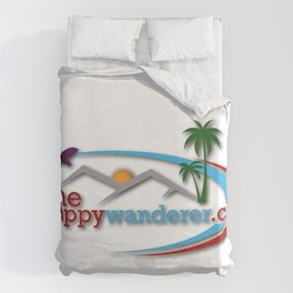 The Happy Wanderer Club Duvet Cover