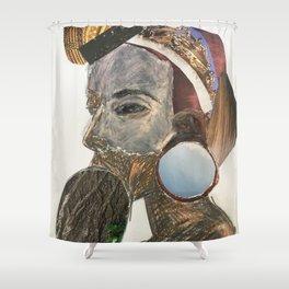 Human 2 Shower Curtain