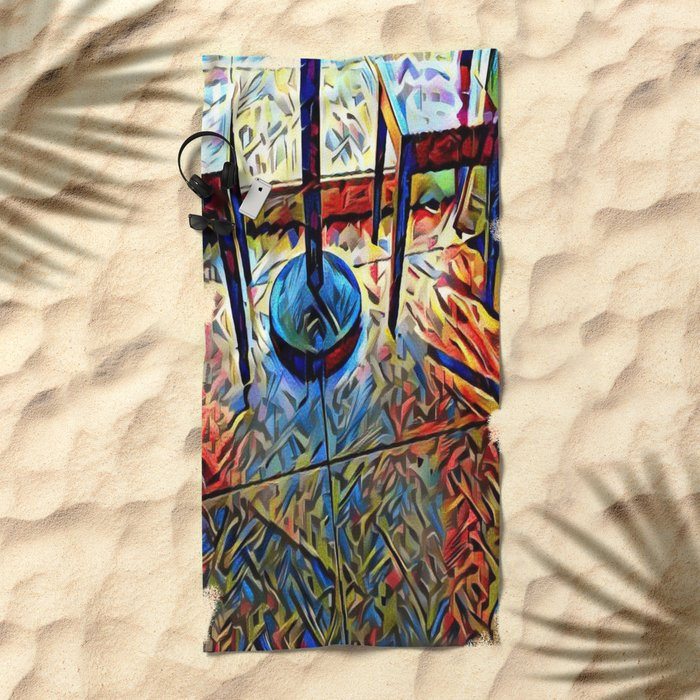 MEETup Beach Towel