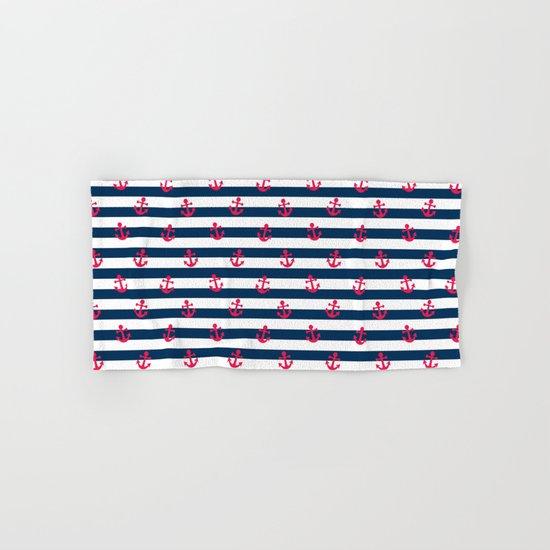 Sailor Stripes Hand & Bath Towel