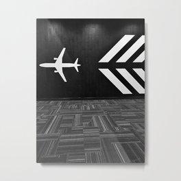 Jetset Metal Print