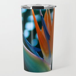 CORAL Bird of Paradise Travel Mug