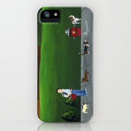 Hilly Hold-up iPhone Case