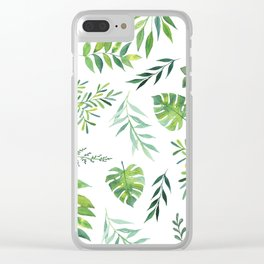 Jungle Clear iPhone Case