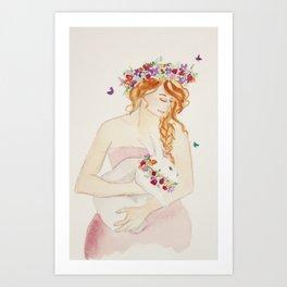 Goddess Ostara Art Print