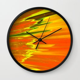 Surface Of The Sun Wall Clock