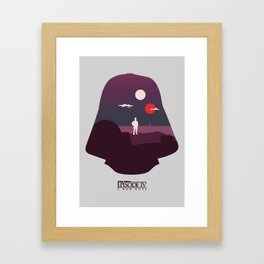 A New Hope Framed Art Print