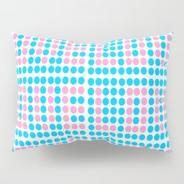 Love polka dot -polka dot, pattern,dot,polka,circle, disc,point,abstract,minimalism Pillow Sham