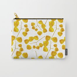 Gold Leaf Art Carry-All Pouch