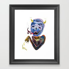 demoniooOOoOOoOooo #1 Framed Art Print