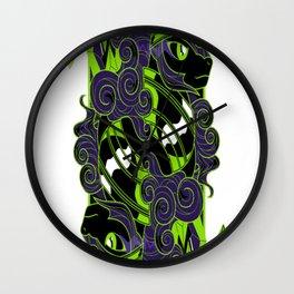King of Crystals Wall Clock