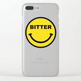 BITTER Clear iPhone Case