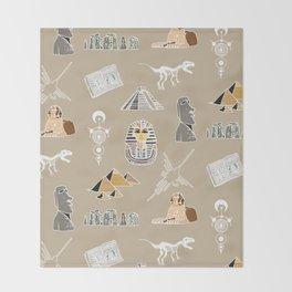 Archeo pattern Throw Blanket