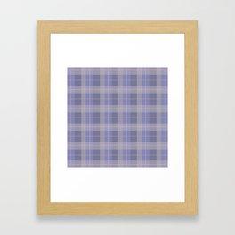 AFE Purple Plaid Pattern Framed Art Print