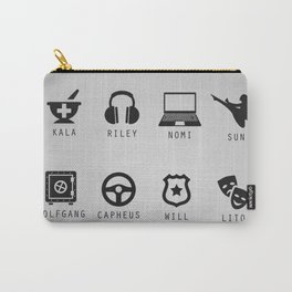 Sense8 Minimalist Carry-All Pouch